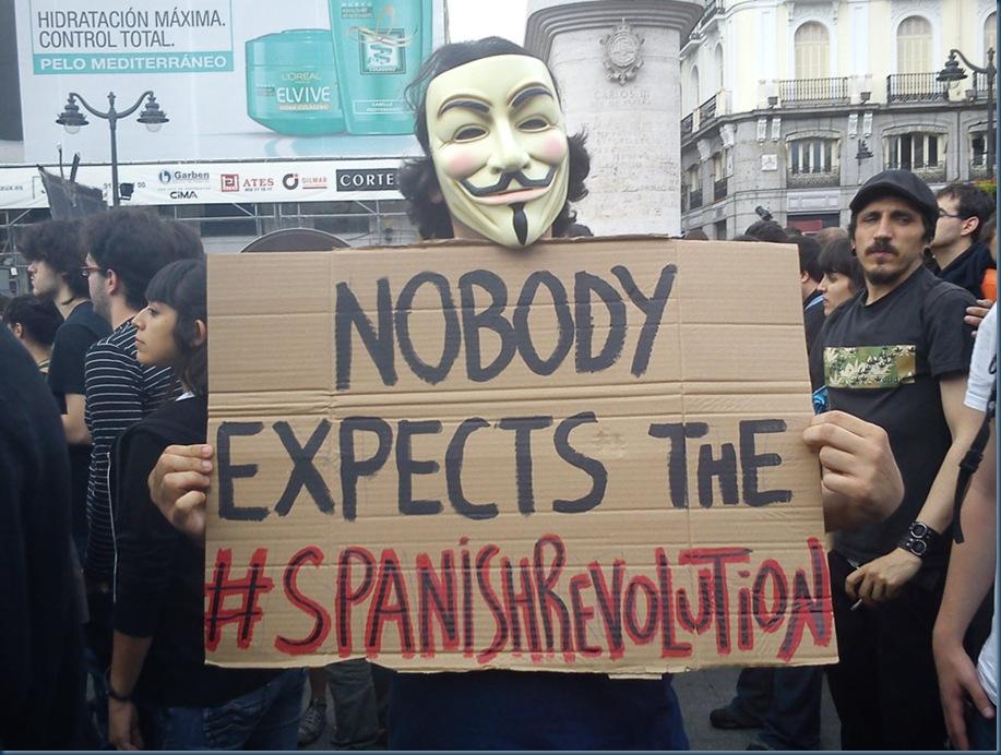 spanish revolution 1